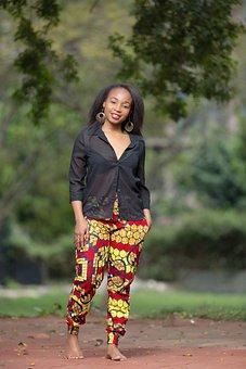 Fashion, Model, Girl, Sheer Button Up Shirt
