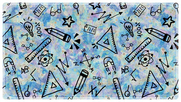 Science, Education, Doodle, Background