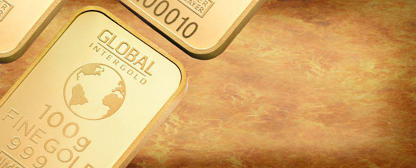Money, Gold, Background, Copy Space, Finance, Currency