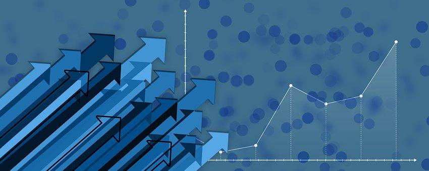 Statistics, Chart, Arrows, Trend, Economy, Business