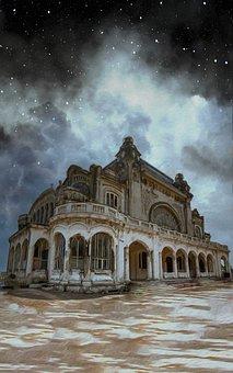 Villa, Abandoned, Fantasy, Building, House, Forgotten