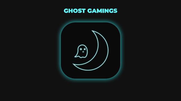 Gaming Mascot, Ghost, Game, Moon, Ghost Gaming