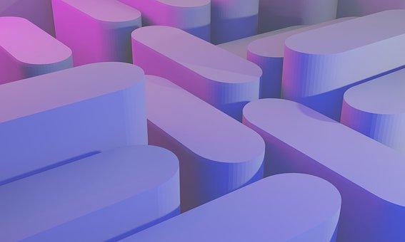 Shape, Object, Floor, Render, Shadow, Mockup, Abstract