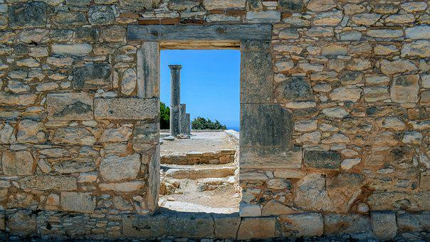 Ruins, Apollo Hylates, Monument, Cyprus, Sanctuary