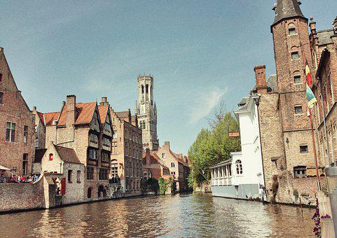 River, Buildings, Sightseeing, Architecture, Travel