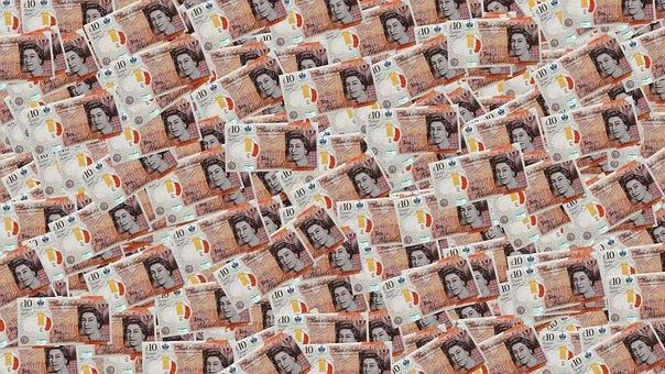Money, Pound, Background, Wallpaper, Ten Pounds