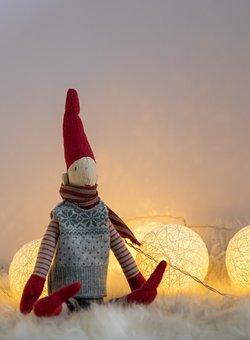 Toy, Lights, Christmas, December, Xmas, Decoration