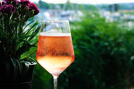 Wine, Spritzer, Glass, Drink, Soda Water, Beverages