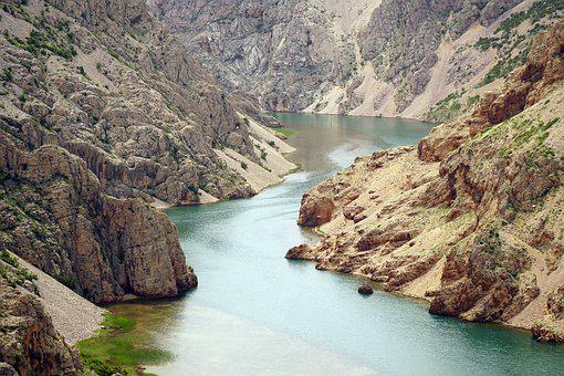 Gorge, Canyon, Valley, River, Zrmanja, Nature, Water