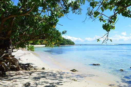 Beach, Ocean, Sea, Island, Caribbean, Travel, Sun, Sky