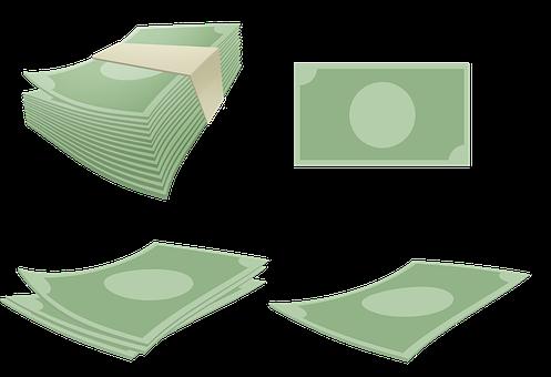 Money, Cash, Banknotes, Bills, Paper Money, Savings
