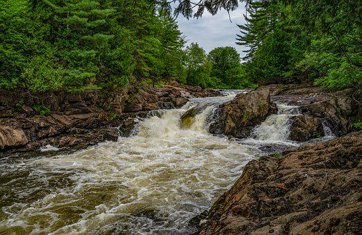 Petite-nation River, Quebec, River, Nature, Water