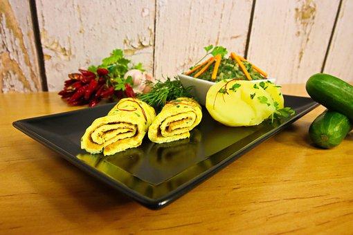 Omelette, Egg, Scrambled Eggs, Eat, Healthy, Hob, Food