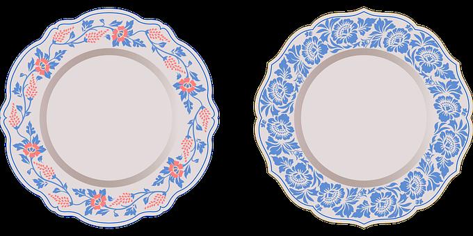 Dish, Tableware, Ceramic, Antique, Plate, Dishware
