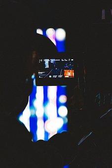 Camera, Lens, Film, Video, Vintage, Old, Cinema