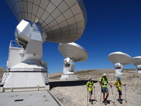 Bure Peak, Antenna, Tv, Radio Telescope