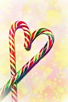 Candy Cane, Sweetness, Sweet, Sugar, Christmas, Treat