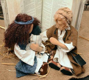 Figures, Dolls, Biblical Narrative Figures