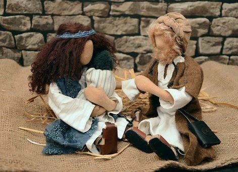 Figures, Dolls, Biblical Narrative Figures