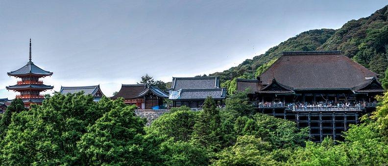 Kiyomizu-dera, Temple, Kyoto, Japan, Japanese, Asia