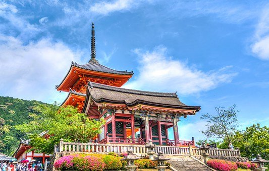Sensō-ji, Temple, Kyoto, Japan, Japanese, Landmark