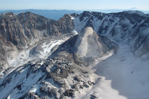 Volcano, Solidified Lava, Mount St Helens