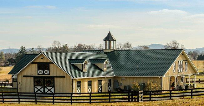 Stable, Barn, Horse Barn, Horse Stable, Ranch, Farm