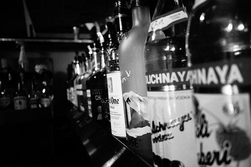 Alcohol, Vodka, Stoli, Stolichnaya, Rail, Bar
