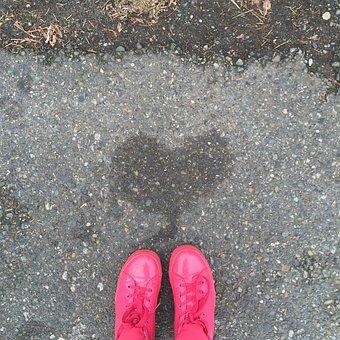 Hearts, Love, Pink, Shape, Symbol, Valentine, Color