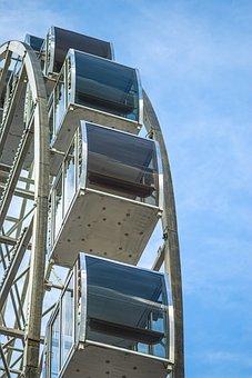 Ferris Wheel, Amusement Park, Amusement Ride