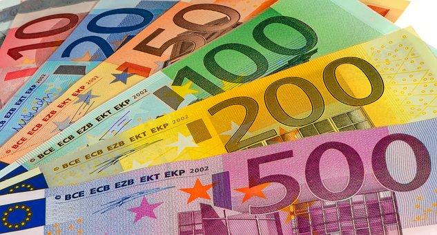 Money, Bills, Euro, Currency, Paper Money, Banknote