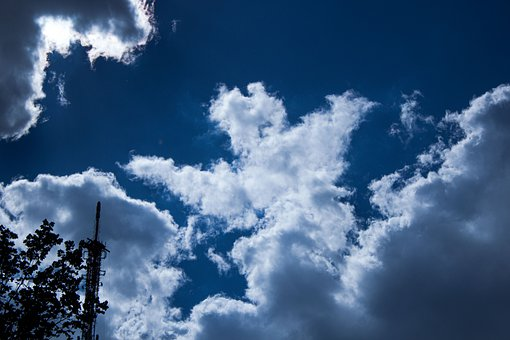 Sky, Clouds, Sunlight, Cloudy, Atmosphere, Blue Sky
