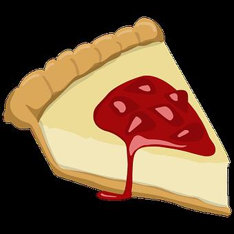 Strawberry Cheesecake, Cheesecake, Dessert, Pastry