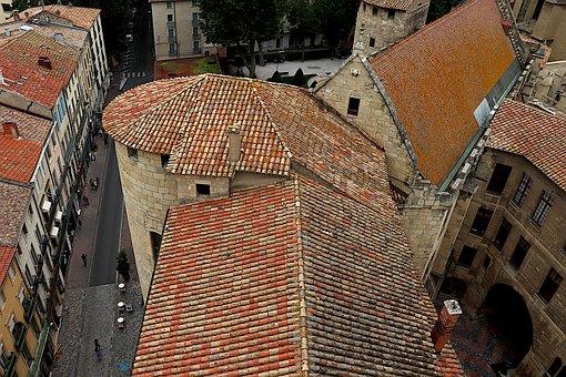 Village, Buildings, Midi De La France, Houses, Roofs