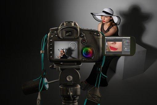 Camera, Photoshoot, Model, Photography, Image Editing