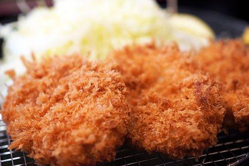 Tonkatsu, Pork Cutlet, Japanese, Food, Meat, Fried Food