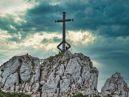 Summit Cross, Cross, Mountain, Kampenwand
