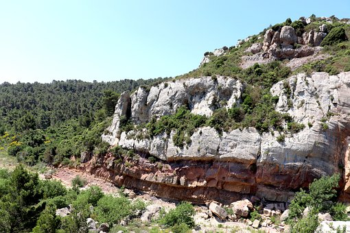 Canyon, Mountain, Forest, Trees, Landscape, Rocks
