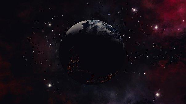 Universe, Space, Earth, Galaxy, Stars, Sky, Cosmos