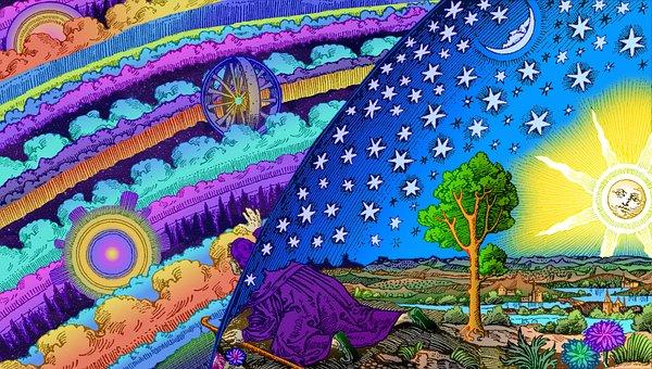 Earth, Universe, Flammarion, Science, Spiritual