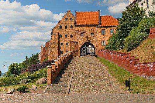 Brama Wodna, Building, Grudziądz, Poland, Water Gate
