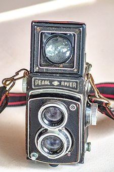 Old Camera, Vintage, Antique, Relic, Object, Device