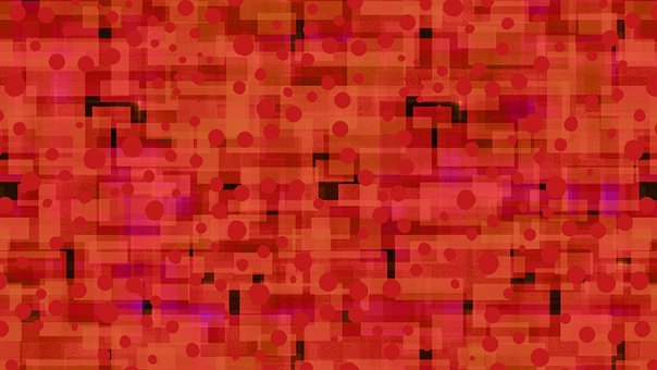 Red, Dots, Background, Abstract, Pattern, Spots