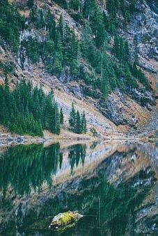 Lake, Mountain, Nature, Lake Twentytwo