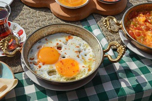Egg, Food, Breakfast, Fried Egg, Egg Yolk, Dish, Meal