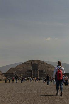 Pyramid Of The Moon, Teotihuacan, Mexico, Culture
