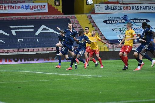 Soccer, Match, Field, Ball, Team, Opponent, Football