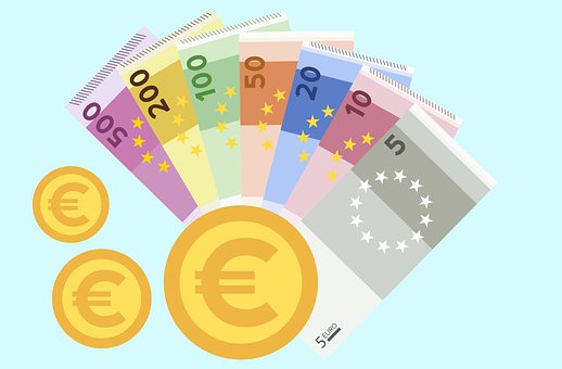 Cash, Money, Euro, Payment, Bank, Currency, Finance