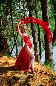 Passion, Girl, Flamenco, Dance, Fabric, Swing, Emotions