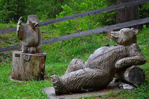 Figure, Wood, Relaxation, Serenity, Leisure, Chill Out